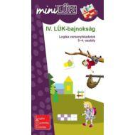 IV. LÜK Bajnokság - Versenyfeladatok logikából 3-4. osztály