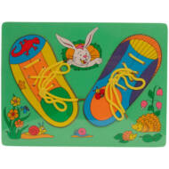 Fűzős cipő puzzle