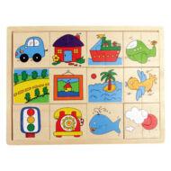 Puzzle felező (járműves)