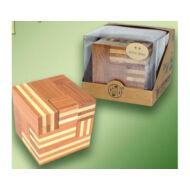 Logikai soma kocka (nagy, bambusz)