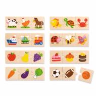 Készségfejlesztő puzzle (kategória csoportosító)