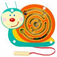 Mágneses golyóvezető (kicsi csiga) - készségfejlesztő játék