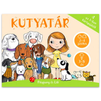 Kutyatár 4 az 1-ben kártyajáték
