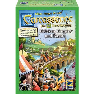 Carcassonne 8. kiegészítő - Brücken, Burgen und Basare - Várak, hídak, vásárok ( magyarított kiadás)