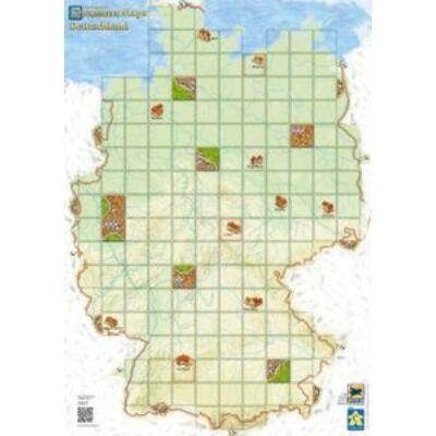 Carcassonne - Map Germany / Carcassonne - Térkép Németország