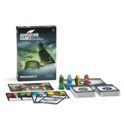 Adventure Game 1.  Monochrome Inc. társasjáték