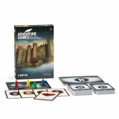 Adventure Game 2.  The Dungeon - A börtön  társasjáték