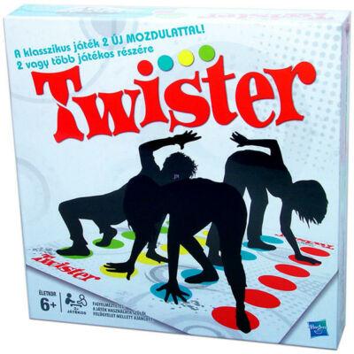 Twister társasjáték-két új mozdulattal ügyességi játék