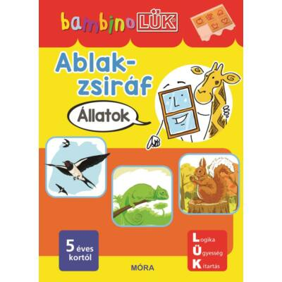 Ablak-zsiráf füzet - Állatok - BambinoLÜK