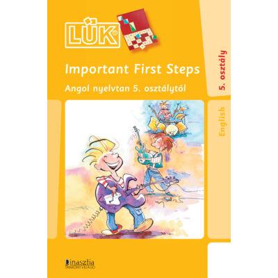 Important First Steps Angol nyelvtan 5. osztálytól