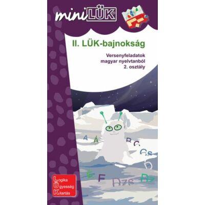 II. LÜK-BAJNOKSÁG - VERSENYFELADATOK MATEMATIKÁBÓL 2. OSZTÁLY