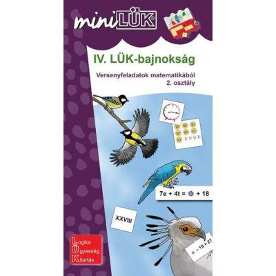 IV. LÜK Bajnokság - Versenyfeladatok matematikából 2. osztály
