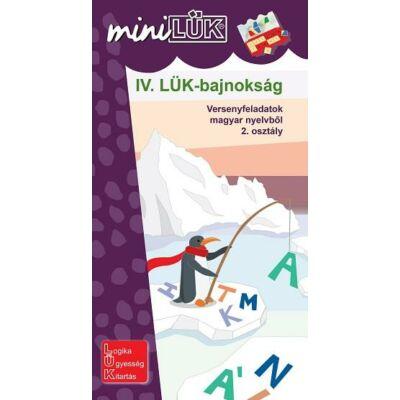 IV. LÜK Bajnokság - Versenyfeladatok magyar nyelvtanból 2. osztály