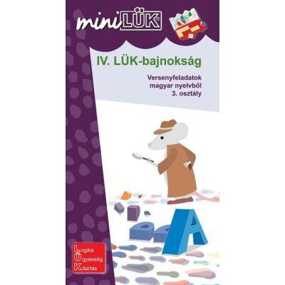 IV. LÜK Bajnokság - Versenyfeladatok magyar nyelvtanból 3. osztály