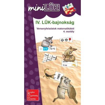 IV. LÜK Bajnokság - Versenyfeladatok matematikából 4. osztály