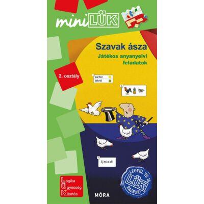 SZAVAK ÁSZA - MINILÜK - Játékos anyanyelvi feladatok 2. osztály (Legyél Te is LÜK bajnok!)