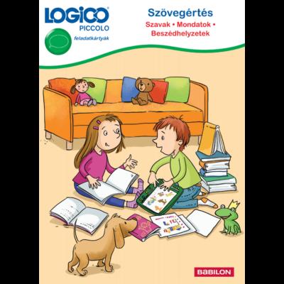 Logico Piccolo - Szövegértés: Szavak, mondatok, beszédhelyzetek