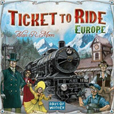 Ticket to ride Europe - Európa