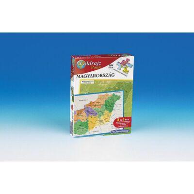 Geo puzzle - Földrajz puzzle Magyarország