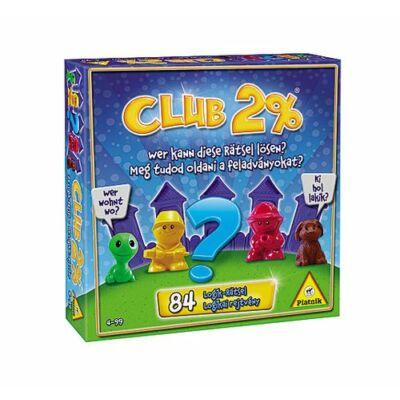 Club 2%-logikai, ügyességi társasjáték