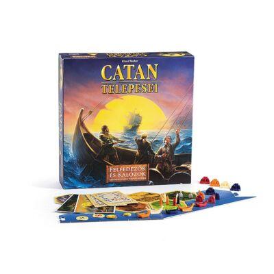 Catan felfedezők és kalózok