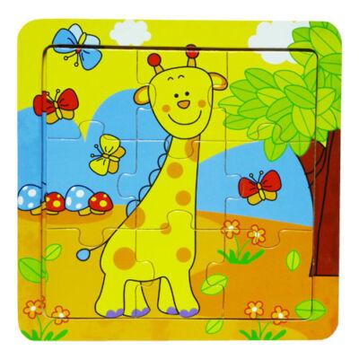 Puzzle 9 db-os (zsiráfos)