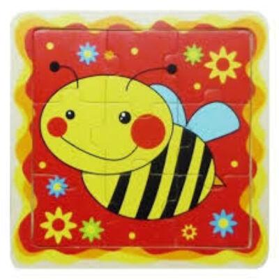 Puzzle 9 db-os (méhecskés)
