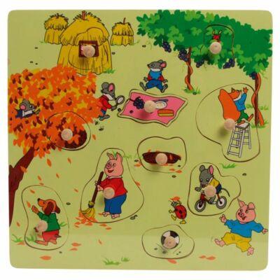 Fogantyús puzzle - Ősz
