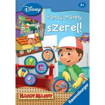 Handy Manny Fix it társasjáték