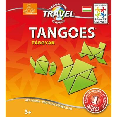 Magnetic Travel Tangoes Tárgyak- Smart Games