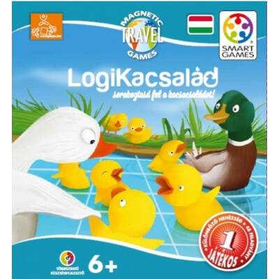 Magnetic Travel LogiKacsalád - Smart Games