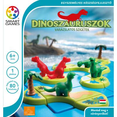 Dinoszauruszok - A varázslatos szigetek / Dinosaurus - Mystic Island - Smart Games
